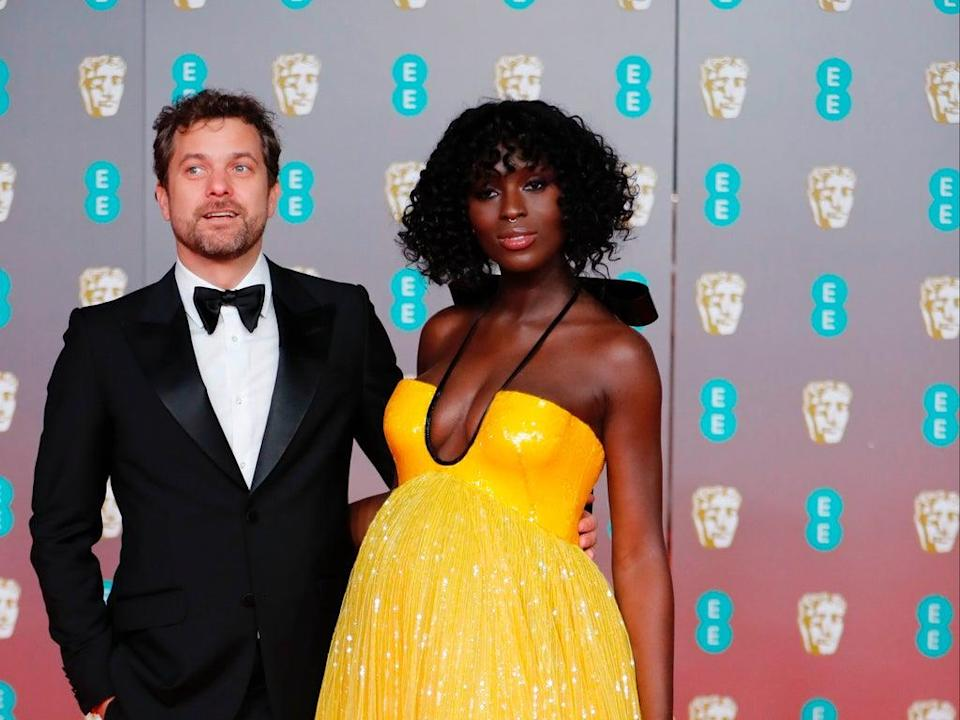 Joshua Jackson defends wife Jodie Turner-Smith from backlash over her proposal (AFP via Getty Images)