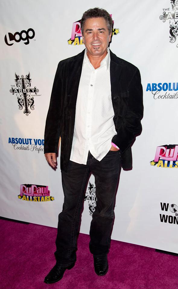 "Christopher Knight arrives at the ""RuPaul's Drag Race: All Stars"" Premiere Party at The Abbey on October 16, 2012 in West Hollywood, California."