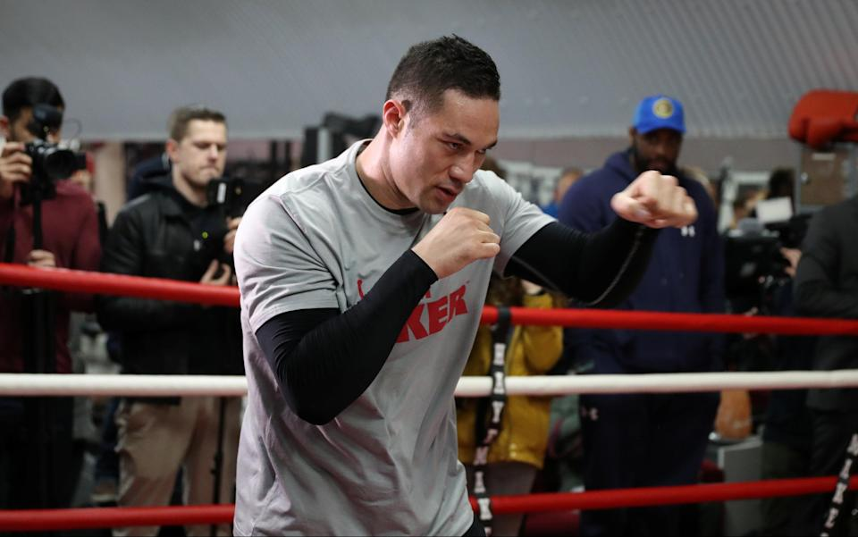 Joseph Parker, the WBO champion who is 24-0 with 18 KOs, is almost being disregarded in his match on Saturday against Anthony Joshua. (Reuters)