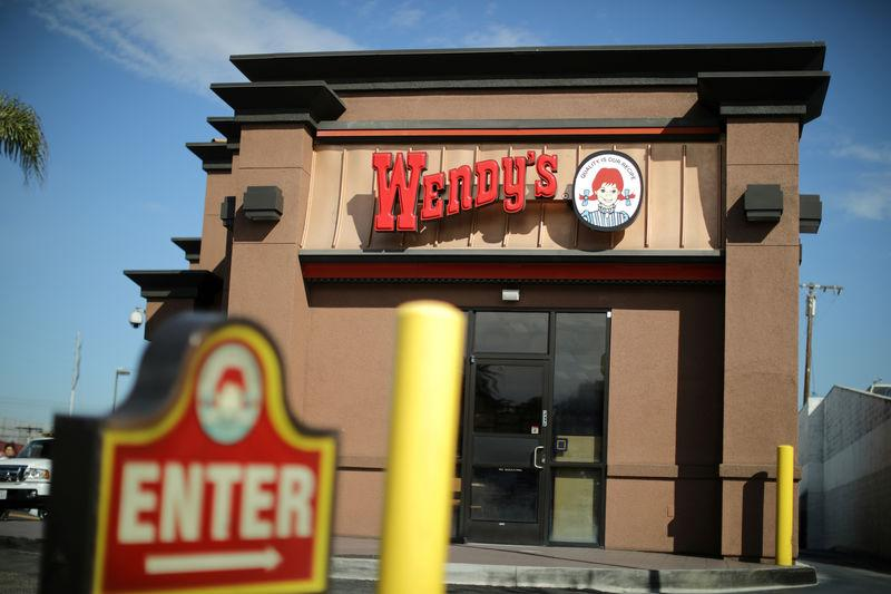 FILE PHOTO: A Wendy's fast food restaurant is seen in Los Angeles