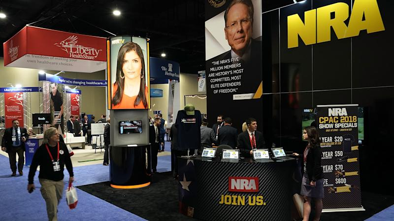 NRA Blasts 'Cowardice' Of Corporate Partners Turning Away From Gun Group