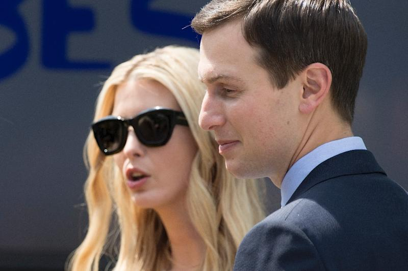 Jared Kushner, pictured with his wife Ivanka Trump, is President Donald Trump son-in-law and senior advisor
