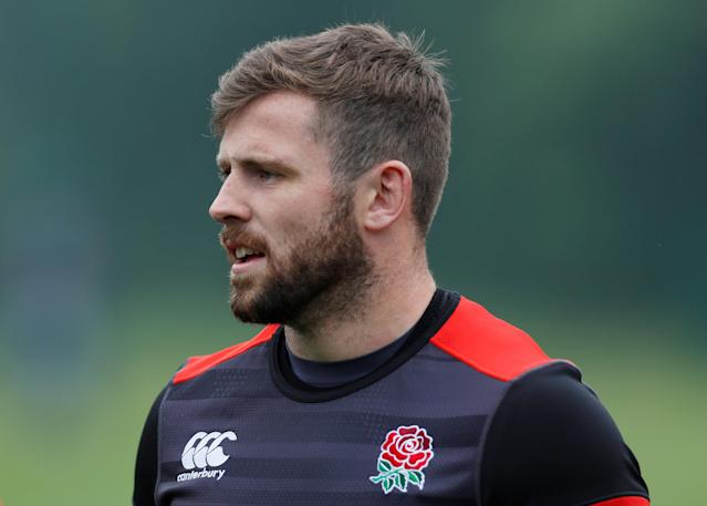 Rugby Union - England Training - Pennyhill Park, Bagshot, Britain - May 24, 2018 England's Elliot Daly during training Action Images via Reuters/Andrew Couldridge