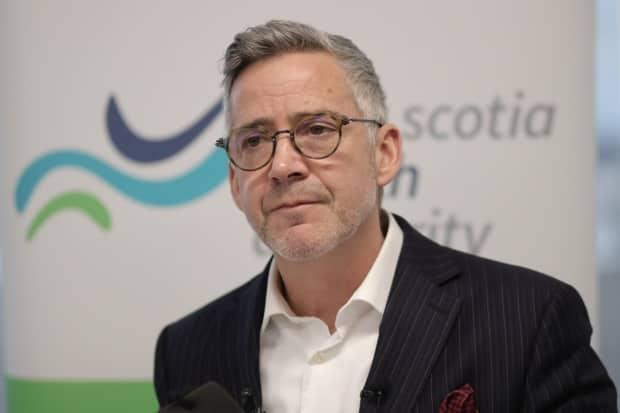 Dr. Brendan Carr became the president and CEO of the Nova Scotia Health Authority in December 2019. (Robert Short/CBC - image credit)