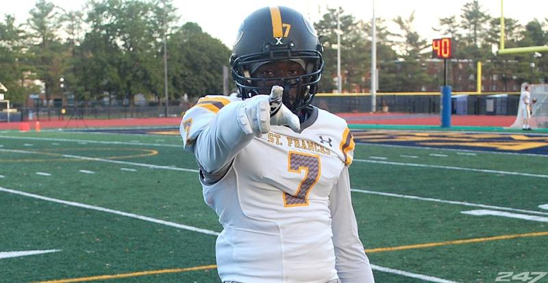 Baltimore St. Frances Academy running back Osman Savage