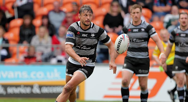 Toronto Wolfpack's Jon Wilkin during the Betfred Championship Summer Bash match at Bloomfield Road, Blackpool. (Photo by Richard Sellers/PA Images via Getty Images)
