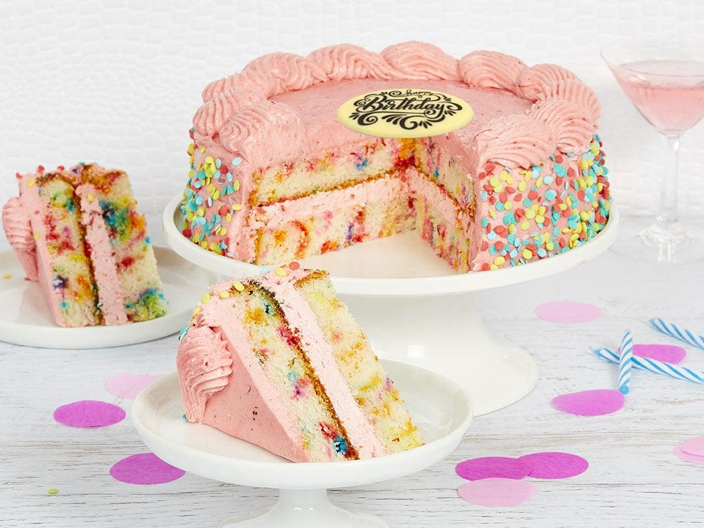 """<p>Send a sweet treat to anyone, anywhere when you get them this <a href=""""https://www.popsugar.com/buy/Bake-Me-Wish-Cake-499884?p_name=Bake%20Me%20a%20Wish%20Cake&retailer=bakemeawish.com&pid=499884&price=48&evar1=savvy%3Aus&evar9=42473080&evar98=https%3A%2F%2Fwww.popsugar.com%2Fsmart-living%2Fphoto-gallery%2F42473080%2Fimage%2F46744810%2FBake-Me-Wish-Cake&list1=gift%20guide&prop13=mobile&pdata=1"""" rel=""""nofollow"""" data-shoppable-link=""""1"""" target=""""_blank"""" class=""""ga-track"""" data-ga-category=""""Related"""" data-ga-label=""""https://www.bakemeawish.com/strawberry-funfetti-cake-delivered.php?occasion=1"""" data-ga-action=""""In-Line Links"""">Bake Me a Wish Cake</a> ($48). Made with the freshest ingredients, these cakes can be shipped overnight so a special someone can wake up to a nice surprise any day of the year.</p>"""