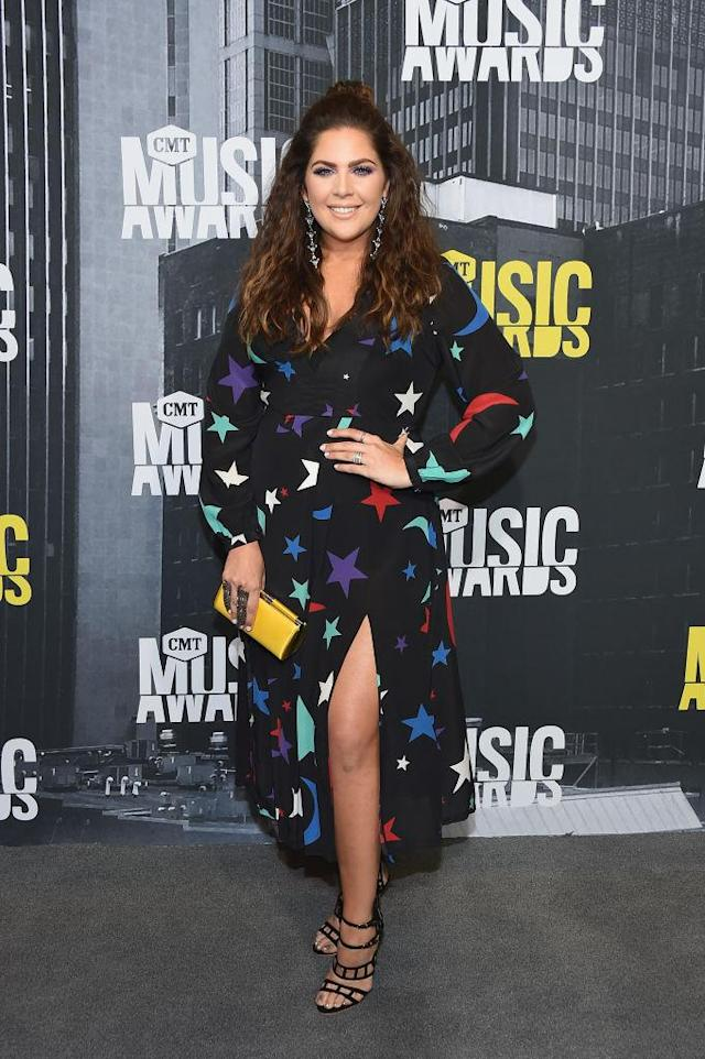 <p>The Lady Antebellum star was out of this world in a cosmic design. (Photo: Getty Images) </p>