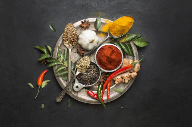 Herbs and spices have anti-inflammatory properties. (Getty Images)