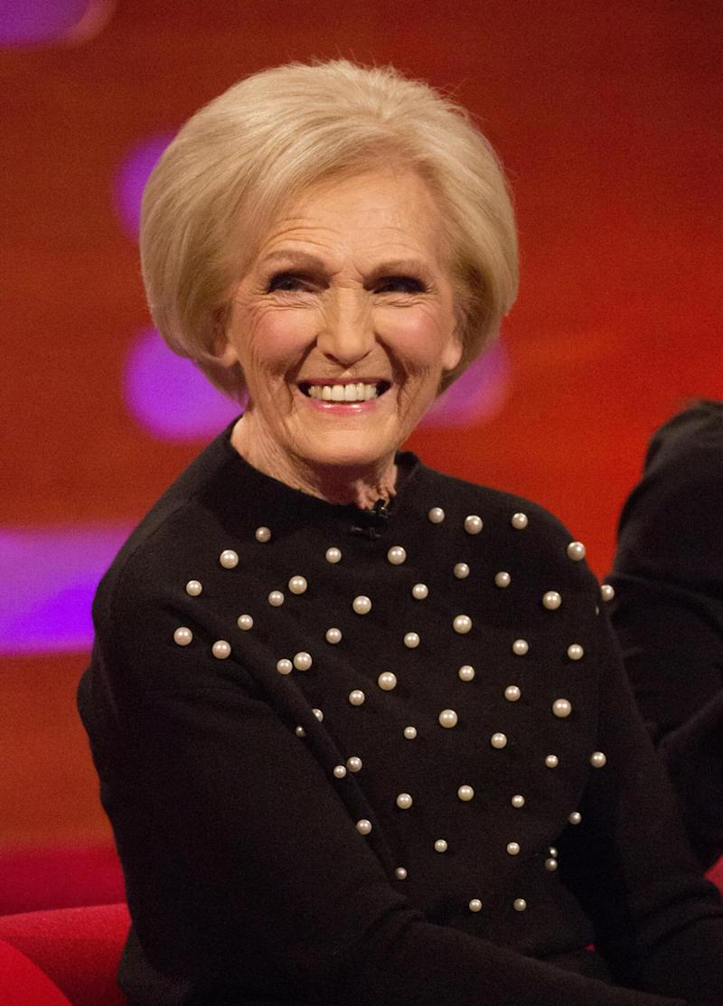 Revealed: Mary Berry explained her story during her appearance on the Graham Norton Show (PA Images on behalf of So TV/PA Wire)