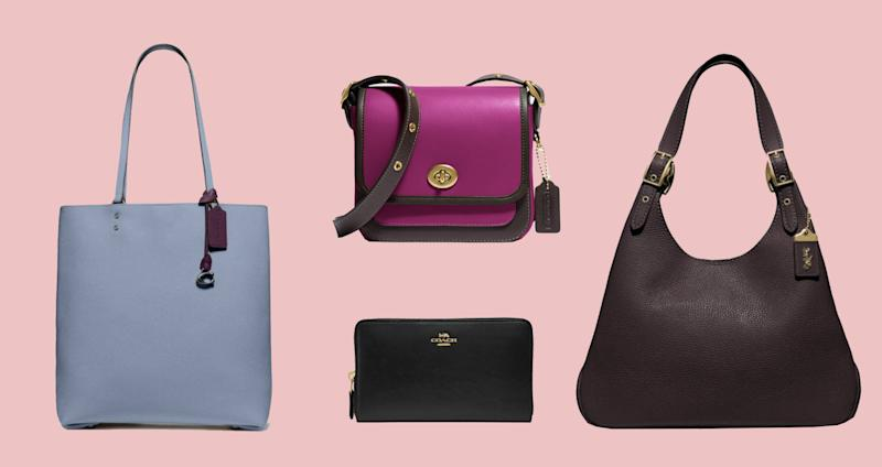 Save up to 50 percent on Coach's bestselling handbags!