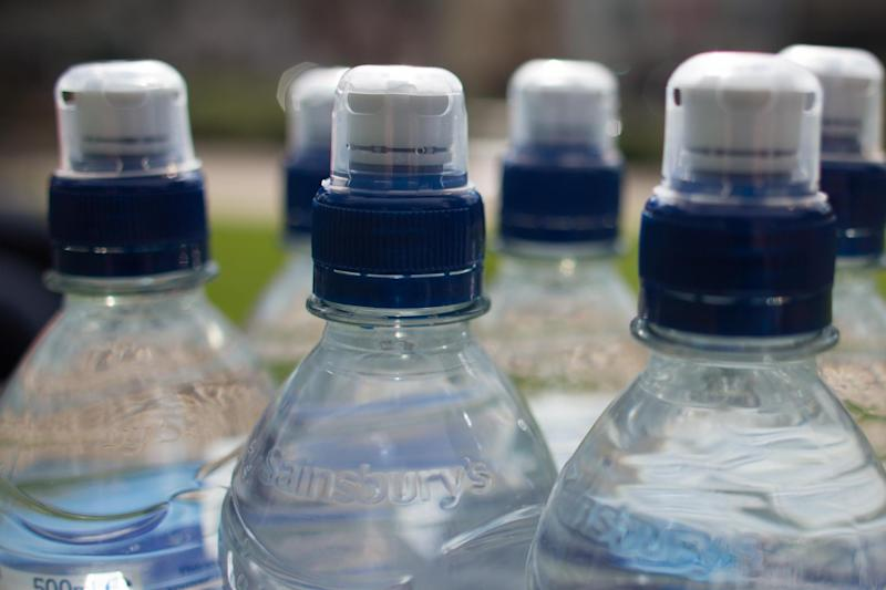 Bottled water accounts for nearly half of all plastic bottle waste found in the River Thames: Getty Images