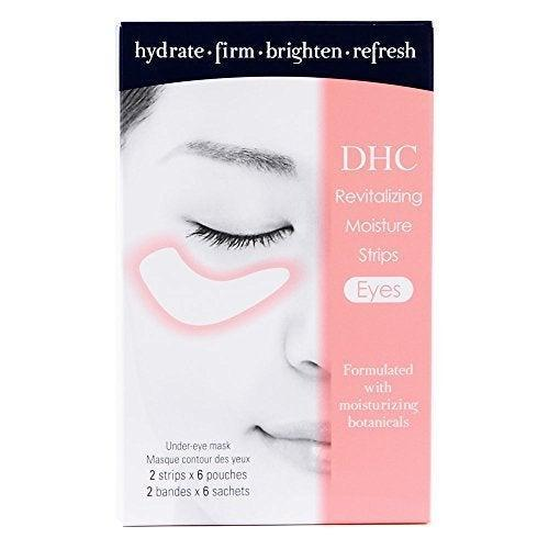 """<h2>DHC Revitalizing Moisture Strips</h2><br>Mulberry and peony are just two of the hydrating, brightening ingredients in these patches that'll make you look well-rested and alert. <br><br><strong>DHC</strong> DHC Revitalizing Moisture Strips, $, available at <a href=""""https://www.amazon.com/DHC-Revitalizing-Moisture-Strips-Applications/dp/B009ALHLTS"""" rel=""""nofollow noopener"""" target=""""_blank"""" data-ylk=""""slk:Amazon"""" class=""""link rapid-noclick-resp"""">Amazon</a>"""