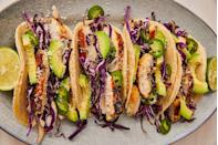 """<p>Buy ingredients for your margs and your main course in one fell swoop.</p><p>Get the recipe from <a href=""""https://www.delish.com/cooking/recipe-ideas/recipes/a46597/tequila-lime-chicken-tacos-recipe/"""" rel=""""nofollow noopener"""" target=""""_blank"""" data-ylk=""""slk:Delish"""" class=""""link rapid-noclick-resp"""">Delish</a>.</p>"""