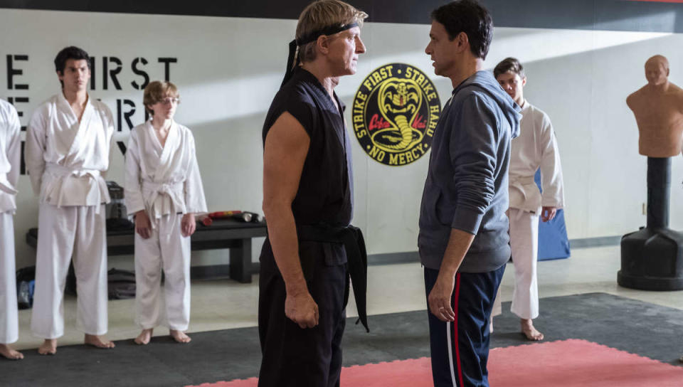 <p> There&#x2019;s a good chance Cobra Kai, the sequel series to The Karate Kid, passed you by. Originally tucked away on the rarely-used YouTube Premium service, Cobra Kai is set over three decades after the events of the original movie and sees Daniel&#x2019;s one-time bully/karate opponent Johnny Lawrence reform his ways and re-open the Cobra Kai dojo. </p> <p> Now, it&#x2019;s all on Netflix &#x2013; in preparation for&#xA0;Cobra Kai season 3&#xA0;&#x2013; and is a sobering, bittersweet take on growing up, moving on from the past, and whether previous successes are truly the things that define you. There&#x2019;s plenty of fan service for Karate Kid fans, including appearances from some of the original cast, but it&#x2019;s a series that stands alone in its own right even if you aren&#x2019;t familiar with the source material. So, what are you waiting for? Chop chop. It&#x2019;s time to catch up on one of the most overlooked shows of the past half-decade. </p>