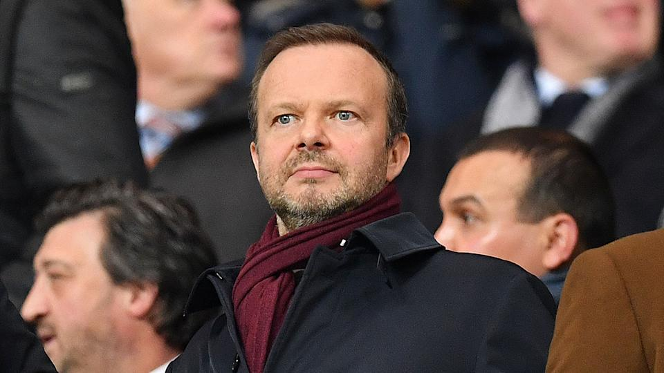Manchester United executive vice-chairman Ed Woodward was the first casualty of the Super League among the English clubs. Pic: Getty