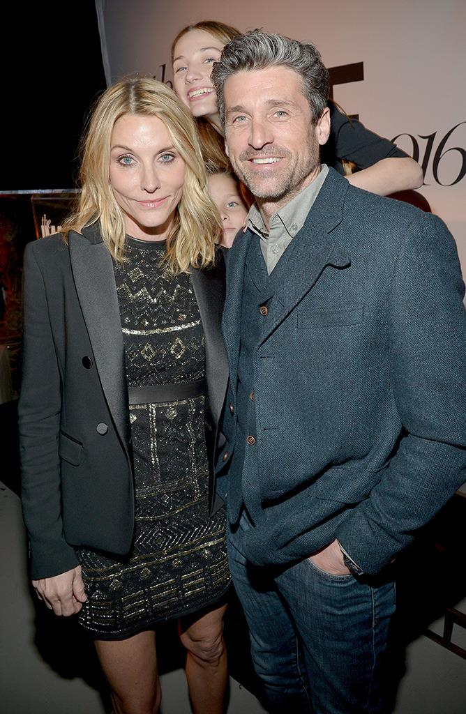 Patrick Dempsey Is Shilling For His Estranged Wifes Makeup Line Now