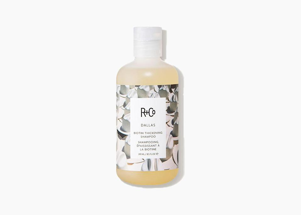 "$29, Amazon. <a href=""https://www.amazon.com/Co-Dallas-Thickening-Shampoo-8-5/dp/B017GGC9BI"" rel=""nofollow noopener"" target=""_blank"" data-ylk=""slk:Get it now!"" class=""link rapid-noclick-resp"">Get it now!</a>"