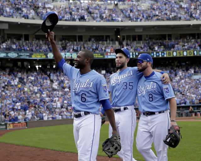 The Royals gave three players qualifying offers Monday. (AP Photo/Charlie Riedel, File)