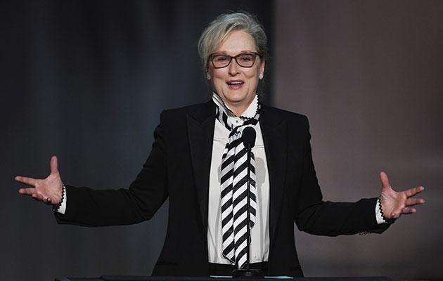 Meryl Streep is just one of the big names in Hollywood who has come out to slam Harvey. Source: Getty
