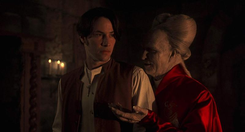 Keanu Reeves and Gary Oldman in a still from Bram Stoker's Dracula. (Columbia Pictures)