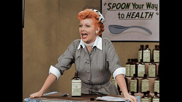 PHOTO: Colorized episodes of 'I Love Lucy' will be shown in theaters in the United States on August 6, which was Lucille Ball's birthday. (Courtesy CBS)