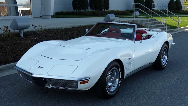 1971 Chevrolet Corvette Heads To Auction With No Reserve