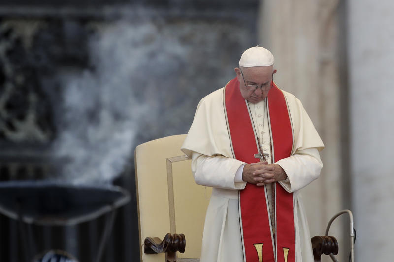 Pope Francis changes Catholic Church teaching to say death penalty is 'inadmissible'