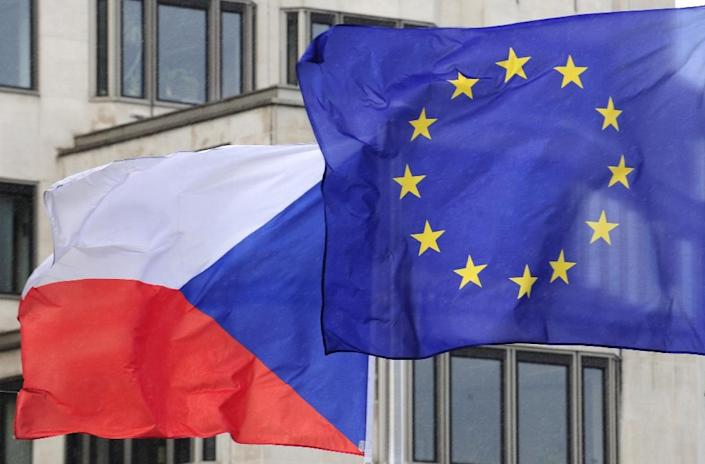 "The BIS Czech intelligence agency identified efforts to ""weaken"" the EU and NATO member country, citing ""a massive distribution of propaganda and misinformation"" by Russia (AFP Photo/DOMINIQUE FAGET)"