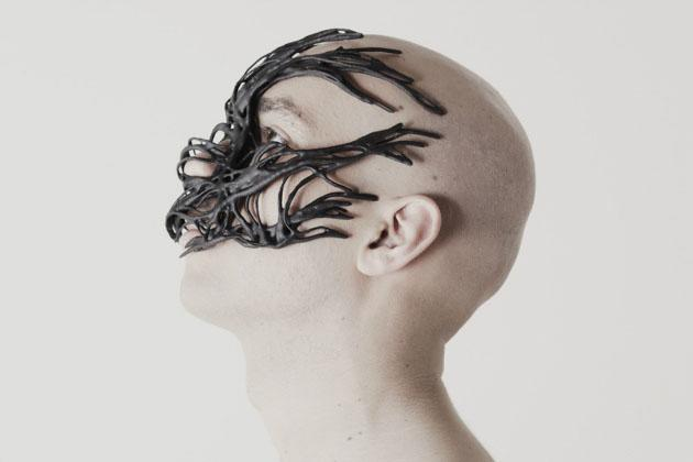 3-D printed mask (Do the Mutation)