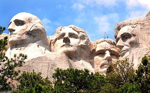 "Four presidents' faces are carved into Mt. Rushmore in South Dakota. <span class=""copyright"">(Christopher Reynolds / Los Angeles Times)</span>"