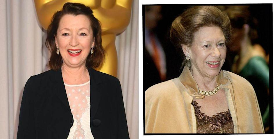<p><strong>Who plays Princess Margaret in The Crown season 5?</strong></p><p><strong>Lesley Manville: </strong>The British actress is known for films like Phantom Thread and Mr Turner. Fun fact: She previously starred with Staunton in the 2004 film Vera Drake.</p>