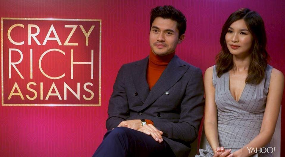 Crazy Rich Asians stars Henry Golding and Gemma Chan discuss racism