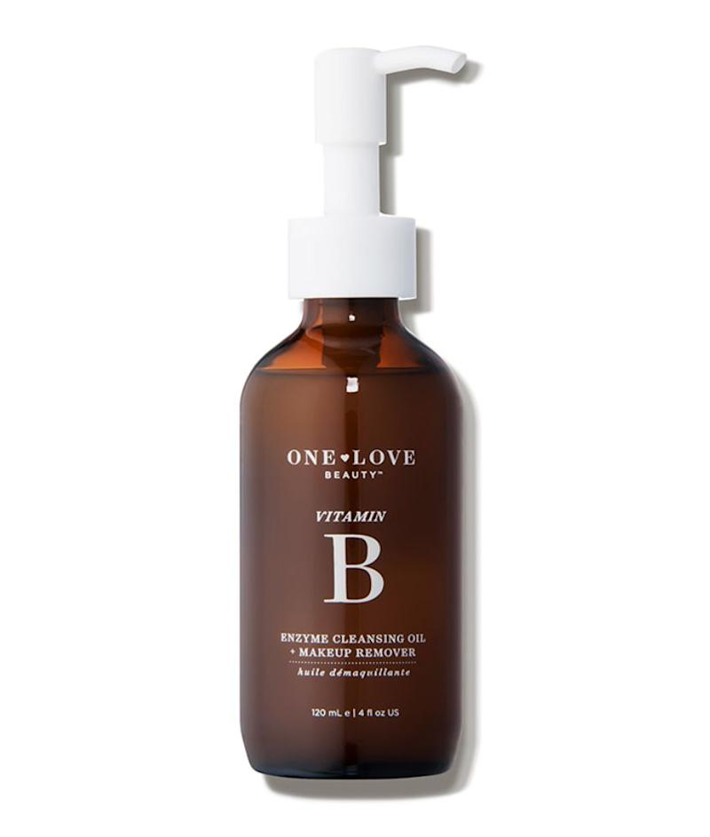 """For most skin types, <a href=""https://fave.co/2Ae0JcS"" target=""_blank"" rel=""noopener noreferrer"">One Love Organics Vitamin B Enzyme Cleansing Oil</a> is what we use in all our facials."" &mdash; <strong>Serron at Heyday</strong>. <a href=""https://fave.co/2Ae0JcS"" target=""_blank"" rel=""noopener noreferrer"">Find it for $42 at Dermstore</a>."