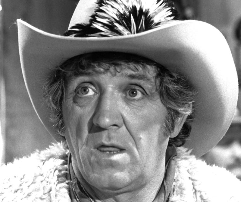 This May 1982 file photo shows George Lindsey in character. Lindsey, who spent nearly 30 years as the grinning Goober Pyle, died early Sunday, May 6, 2012. He was 83. (AP Photo, File)