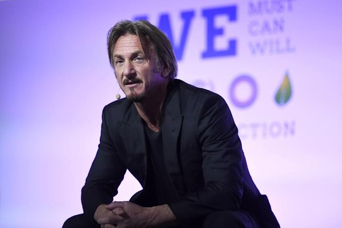 US actor Sean Penn wrote that the 58-year-old Guzman gave him a big hug when they met at a Mexican jungle clearing and had a seven-hour sitdown followed by phone and video interviews (AFP Photo/Eric Feferberg)