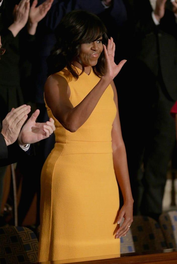 obama state of the union dress