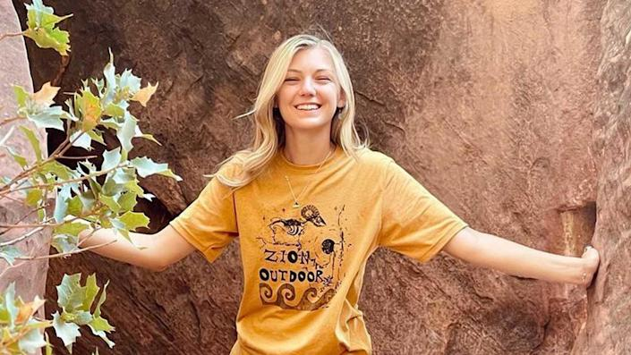 A smiling Gabby Petito at Zion National Park on July 16, 2021. / Credit: Gabby Petito/Instagram