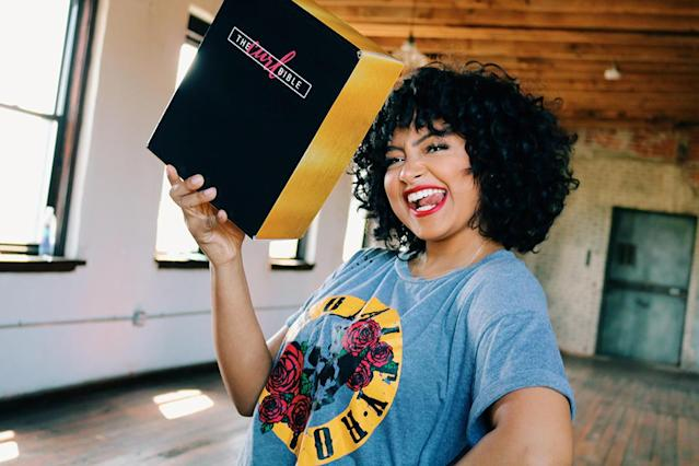 Dana Chanel, founder of the Curl Bible, an online beauty supply store for black and Hispanic women. (Photo: Courtesy of the Curl Bible)