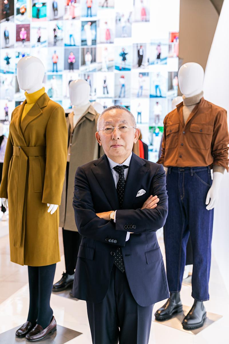 President of Uniqlo, Tadashi Yanai in London. (PHOTO: Uniqlo)