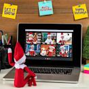 """<p>It's one of the only times a Scout Elf allows other people to watch what he's up to—during a virtual meeting! A downloadable image makes this scenario easy to mimic.</p><p><strong>Get the tutorial at <a href=""""https://elfontheshelf.com/elf-ideas/north-pole-virtual-meeting/"""" rel=""""nofollow noopener"""" target=""""_blank"""" data-ylk=""""slk:Elf on the Shelf"""" class=""""link rapid-noclick-resp"""">Elf on the Shelf</a>.</strong></p><p><a class=""""link rapid-noclick-resp"""" href=""""https://go.redirectingat.com?id=74968X1596630&url=https%3A%2F%2Fwww.walmart.com%2Fsearch%2F%3Fquery%3Delf%2Bon%2Bthe%2Bshelf&sref=https%3A%2F%2Fwww.thepioneerwoman.com%2Fholidays-celebrations%2Fg34080491%2Ffunny-elf-on-the-shelf-ideas%2F"""" rel=""""nofollow noopener"""" target=""""_blank"""" data-ylk=""""slk:SHOP ELF ON THE SHELF"""">SHOP ELF ON THE SHELF</a></p>"""