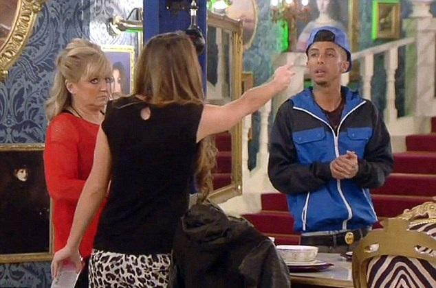 Celebrity Big Brother: Luisa Lays into Dappy after Sexist Rant