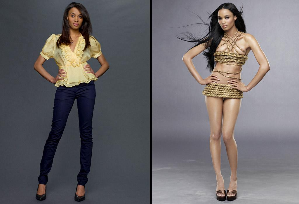 """Ashley gets an extra-long black weave for her """"Ty-over"""" on Le Cycle 13 of <a href=""""/america-39-s-next-top-model/show/35130"""">""""America's Next Top Model.""""</a>"""