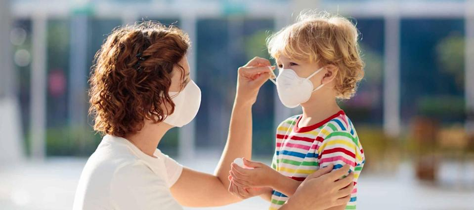 COVID face masks and sanitizer can be deducted from taxes, the IRS says