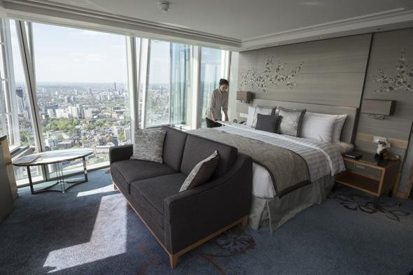The Shard's Shangri-La voted worst luxury hotel of 2014