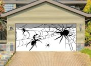 <p>Eeeek! This <span>Garage Door Spider Decor Mural</span> ($280) is sure to attract a lot of double takes from trick-or-treaters. The retailer promises no tape or screws are needed for installment and your garage door will remain pristine thanks to the mural's tension-hook attachment. </p>