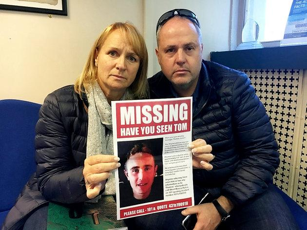 Vicki and Ian Jones are adamant their missing son is still alive