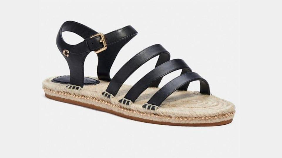 Summer-ready kicks like flats and sandals are on sale at Coach Outlet.