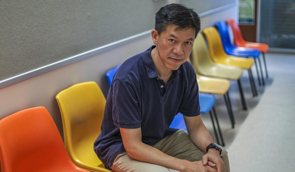 Professor Terry Lum of HKU was part of the survey team. Photo: Tory Ho