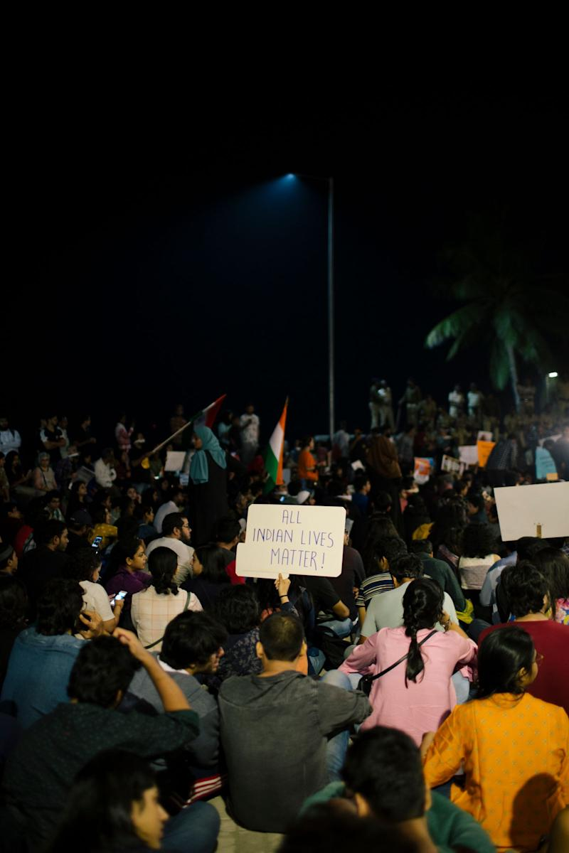 Carter Road protest